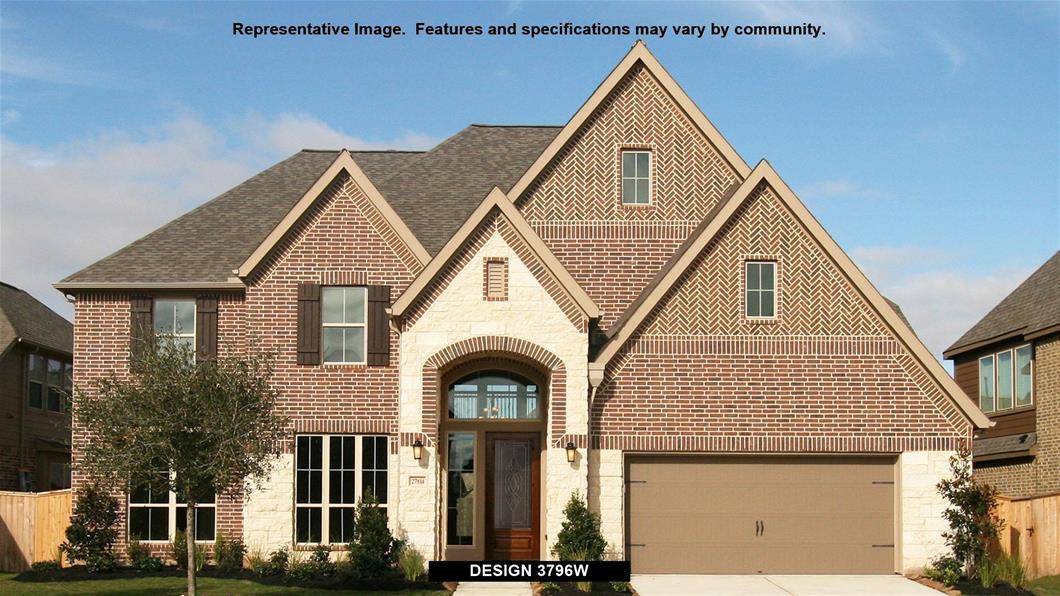 New Home Design, 3,796 sq. ft., 5 bed / 4.5 bath, 3-car garage