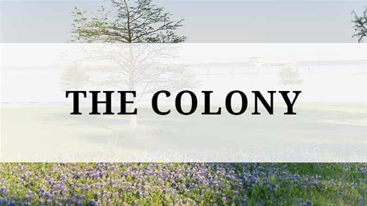 The Colony region