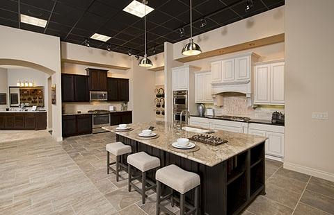 Design centers top home builders in texas perry homes - Perry homes design center houston ...