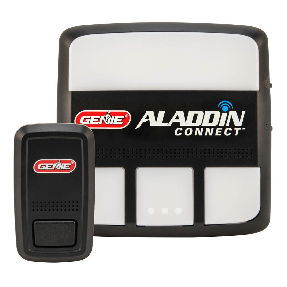 aladdin connect garage door opener controller and operator
