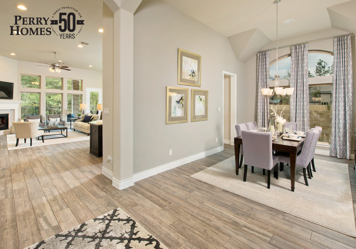 How to Choose an Area Rug | Perry Homes