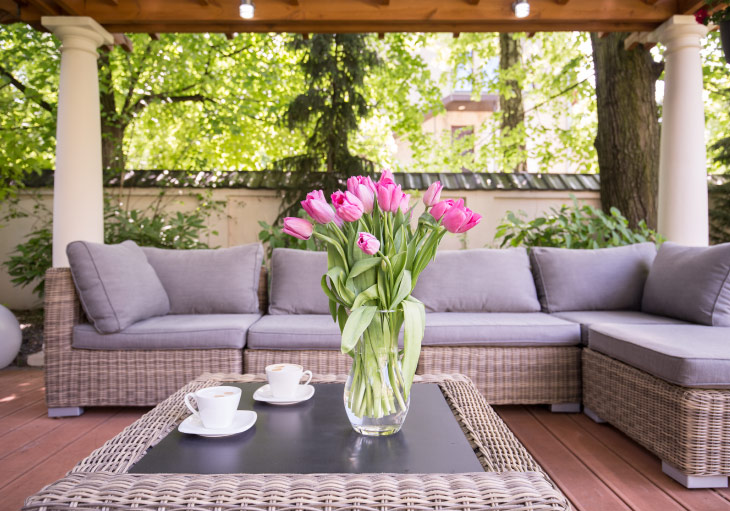 How To Clean Outdoor Cushions Perry Homes