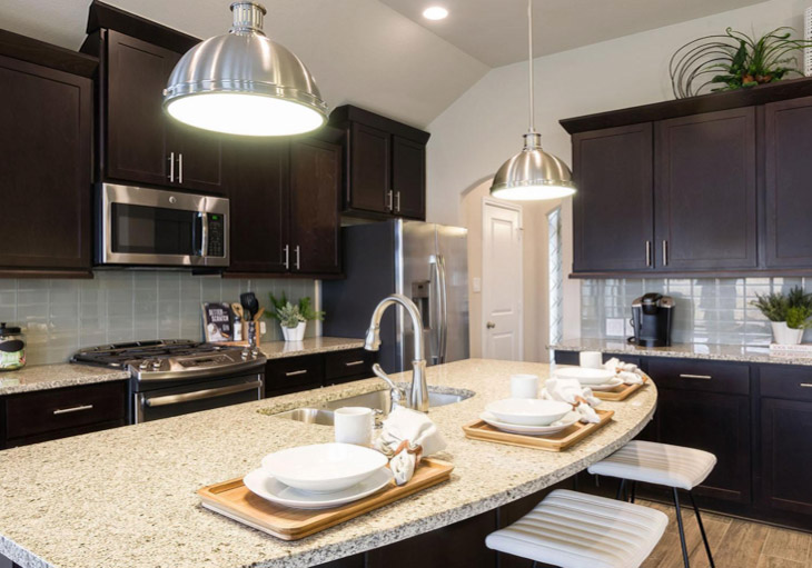 Popular Materials For Kitchen Countertops Perry Homes